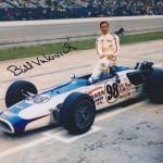 Bill Vukovich II 1968  autographed