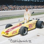 Bill Vukovich II 1971 Autographed