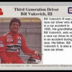 Billy Vukovich III  trading card