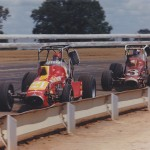 Vuky and Sheldon Kinser at Duquoin 1977