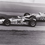 Vuky and Art Pollard 1968 Indy 500